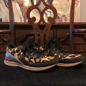 Sam Edelman leopard sneakers